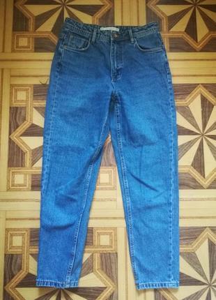 Стильные джинсы мом mom zara