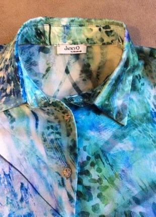 Шелковая рубашка jacky'o