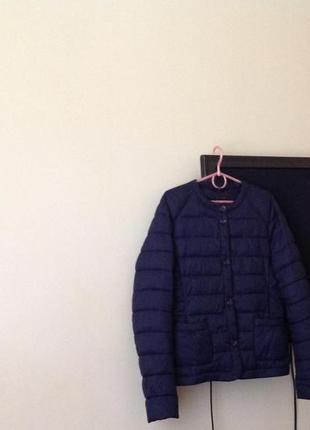 Куртка курточка утеплена брендова sisley jacket italy оригінал