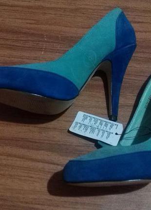 Замш натуральный 1000%.туфли reserved