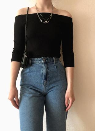 Базові джинси слоучі stradivarius💎