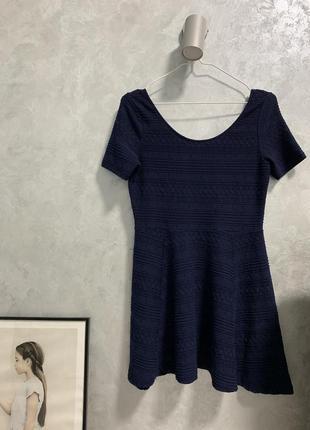 Платье в узор h&m