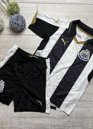Спортивный комплект набор костюм шорты футбольный пума puma 9-10