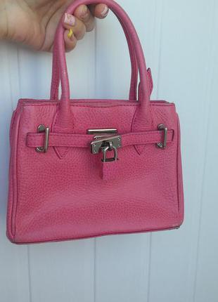Детская розовая сумочка гермес. будет, как мамочка.