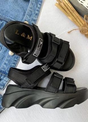 Женские спортивные босоножки сандалии