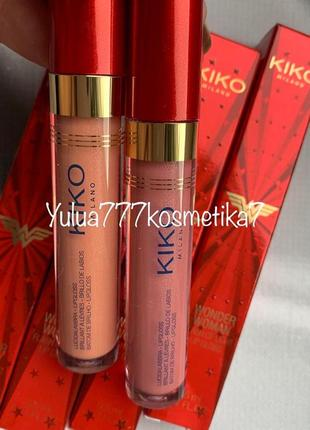 Супер 3 д блеск для губ kiko milano wonder для увеличения объёма губ1 фото
