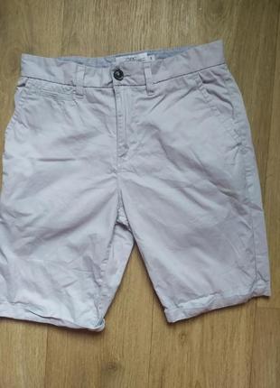 Красивые стильные летние лёгкие шорты серые мужские с 36, 28 29 30