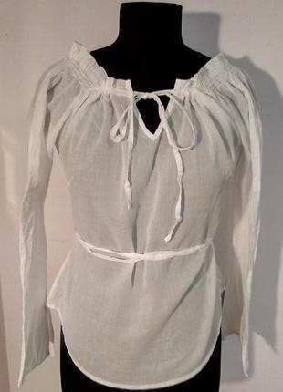 Нежная женская блузка, рубашка от sisley