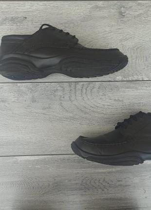 Ecco мужские кожаные туфли оригинал германия