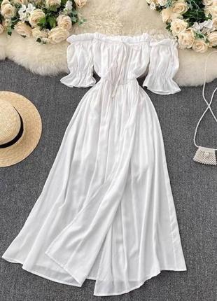 Красиве,жіночне плаття на плечі 💘 4 кольори 🌈 якість 👍