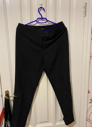 Чёрные классические брюки george