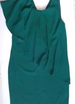 Элегантное платье футляр сукня рюш