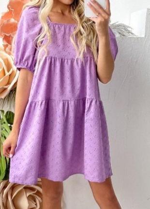 Красивейшее женское платье из натуральной туани