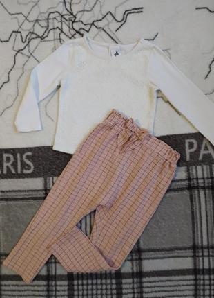 Легкие штаны и реглан