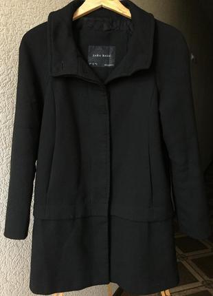 Классическое пальто от бренда zara