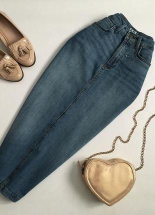 Трендовая джинсовая юбка миди marks&spencer