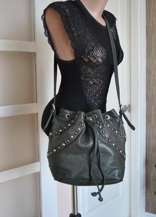 Кожаная сумка jones bootmaker / шкіряна сумка