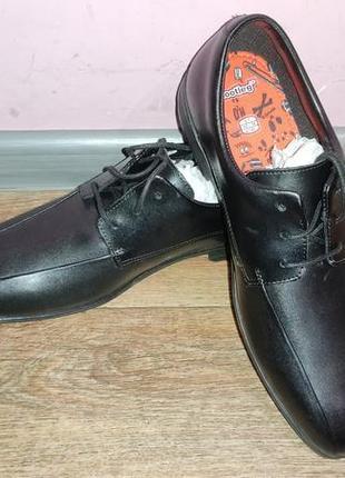 Новые кожаные туфли clarks, 39 и 39.5 размер