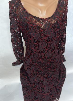 Шикарное платье ажур