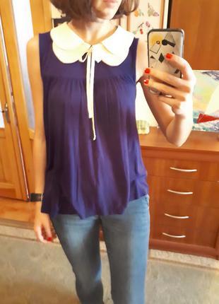 Блуза, блузка, майка ассиметричная