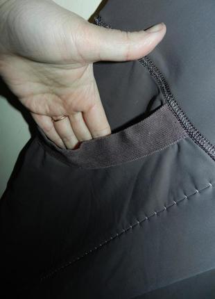 Трикотажные-масло,стрейч укороченные брюки-капри,бриджи с утяжкой и карманами,батал4 фото