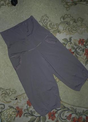 Трикотажные-масло,стрейч укороченные брюки-капри,бриджи с утяжкой и карманами,батал2 фото