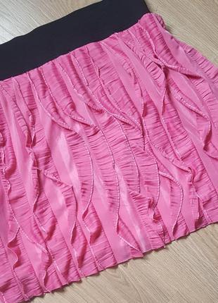 Яркая пышная юбка с широкой резинкой