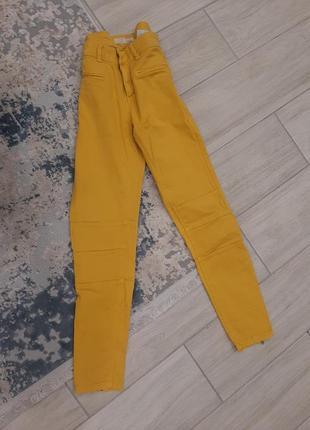 Жёлтые джинсы , возможен обмен