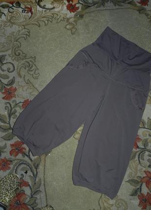 Трикотажные-масло,стрейч укороченные брюки-капри,бриджи с утяжкой и карманами,батал7 фото