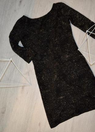 Платье zara c открытой спиной