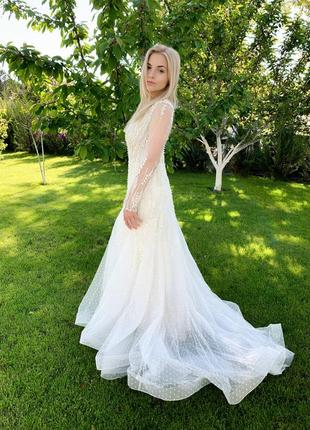 Весільна сукня millanova4 фото