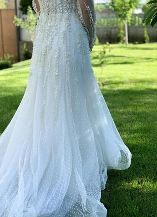 Весільна сукня millanova5 фото