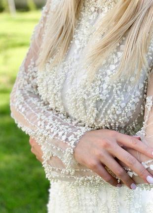 Весільна сукня millanova9 фото