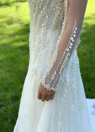 Весільна сукня millanova7 фото