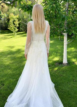 Весільна сукня millanova6 фото