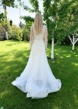Весільна сукня millanova8 фото