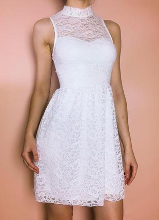 Белое платье гипюровое 🥰🥰🥰