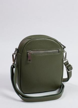 Маленькая сумка-кошелек из натуральной кожи. очень удобная и практичная.