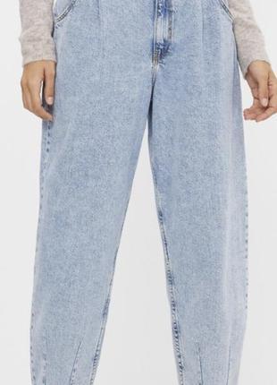 Джинсы бершка, bershka jeans, мом джинсы, mom jeans, balloon jeans, мамы, момы