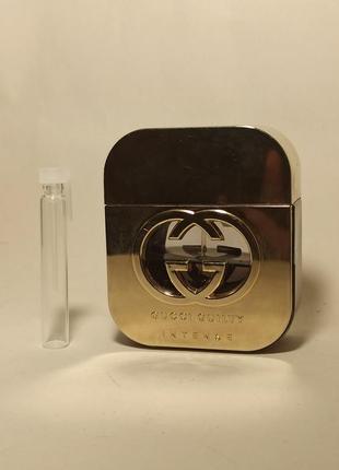 Gucci guilty intense парфюмированная вода 3 ml распив
