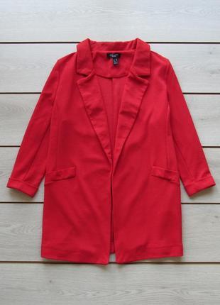 Фактурный удлиненный пиджак блейзер от new look