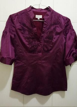 Karen millen: шелковая блуза