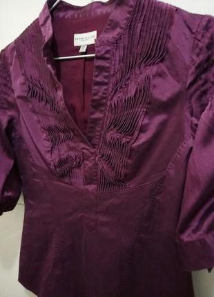 Karen millen: шелковая блуза2 фото