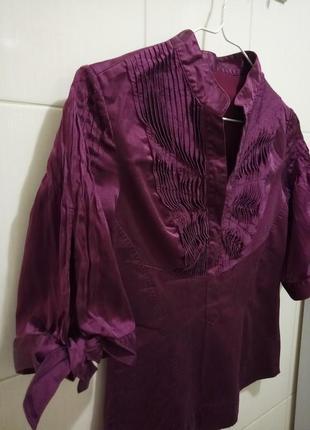 Karen millen: шелковая блуза3 фото