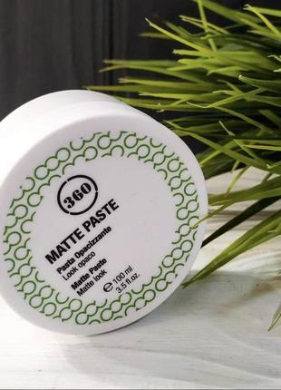 Kaaral 360 matte paste матовая паста для волос с пчелиным воском и белой глиной