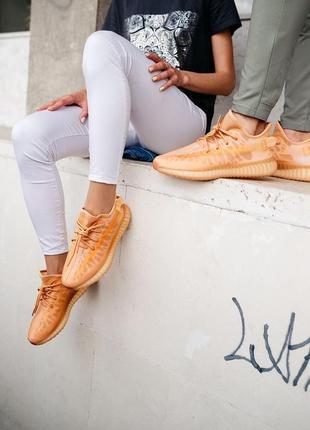 Adidas yeezy boost 350 v2 mono clay кроссовки адидас мужские женские унисекс обувь взуття изи буст6 фото