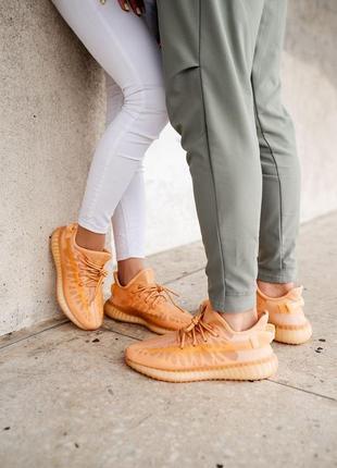 Adidas yeezy boost 350 v2 mono clay кроссовки адидас мужские женские унисекс обувь взуття изи буст8 фото