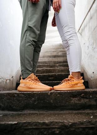Adidas yeezy boost 350 v2 mono clay кроссовки адидас мужские женские унисекс обувь взуття изи буст5 фото