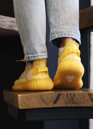Adidas yeezy boost 350 yellow7 фото