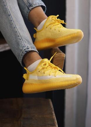 Adidas yeezy boost 350 yellow5 фото